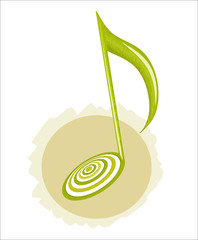 musical note. vector