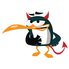 Pingouin demon