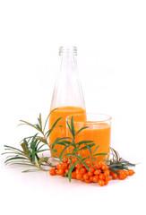 Sanddorn Saft - sallow thorn juice 05