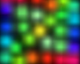 Abstract Blurry Dots Background poster