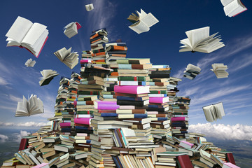 Book mountain