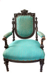 antique elbow-chair poster