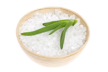 aloe vera.with bath salt