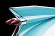 blue cadillac tail light