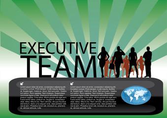 executive team vector