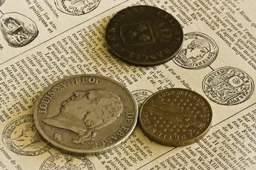 Trois monnaies