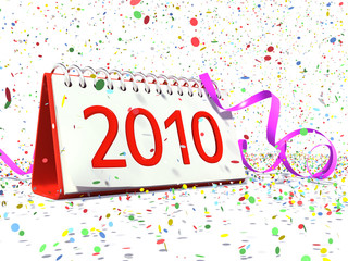 Date of New Year 2010