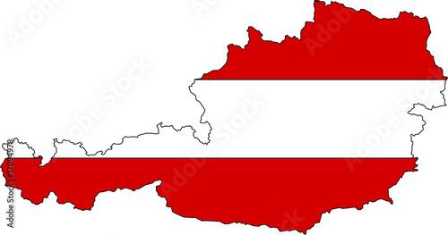 sterreich fahne austria flag stockfotos und lizenzfreie vektoren auf bild 17094978. Black Bedroom Furniture Sets. Home Design Ideas