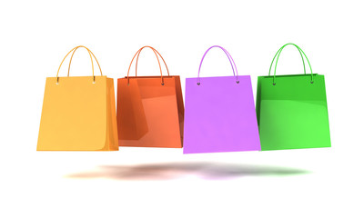 Buste Shopping colorate
