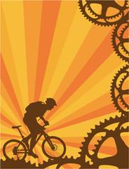 Mountain bike wallpaper