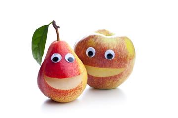 Apfel und Birne - ein Unterschied