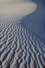 Sand ripples in desert, USA
