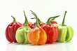 chilly pepper collection background