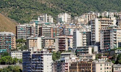 urban building houses