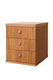 wooden desk cupboard poster