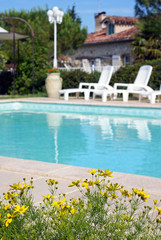 jolie maison en pierre avec piscine # 03