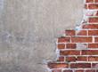 Leinwandbild Motiv Mauer