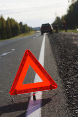 Attention, traffic accident!