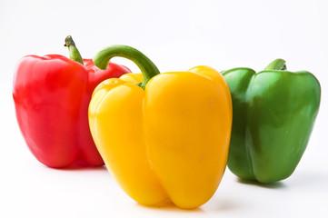 paprika - drei Schoten