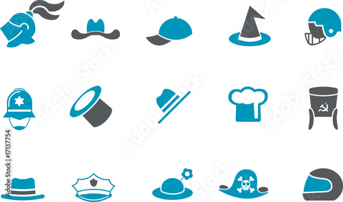 Hat Icon Set