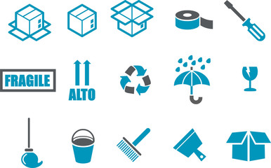 Moving Icon Set