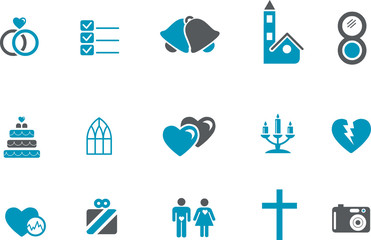 Wedding Icon Set