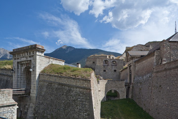 Fortifications of Briancon (France) designed by Vauban