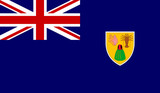 Turks and Caicos Islands Flag poster
