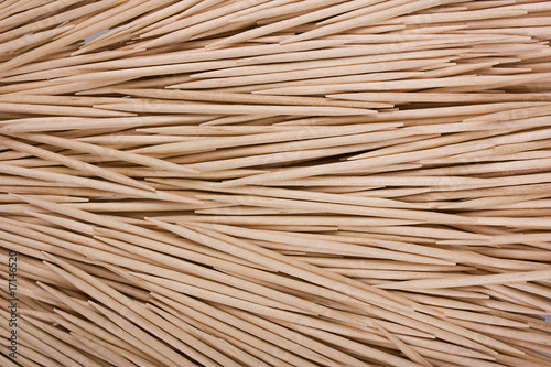 wooden toothpicks as background