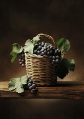 Basket of grape