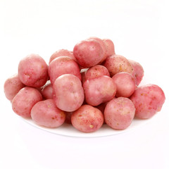 potatoes on the table.