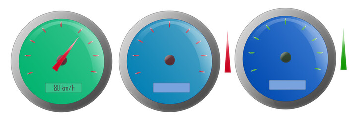 Speedometer Illustrations