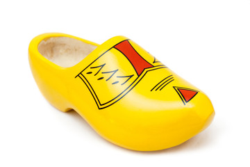 Dutch wooden shoe
