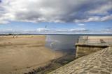 embankment of sea poster