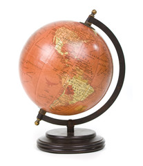 stylish vintage globe