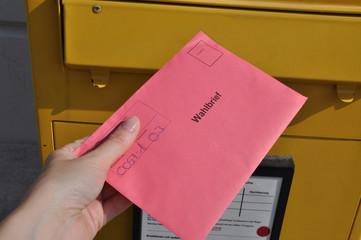 Briefwahl in Deutschland