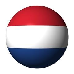 Dutch flag sphere
