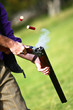 canvas print picture - Clay Pigeon Shooting 2