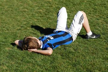 mi-temps de foot