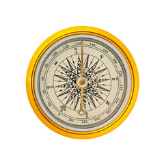 Compass isolated