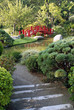 allée d'un jardin japonais toulousain