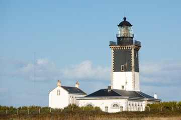 lighthouse and guardian house