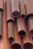 copper pipe lengths poster