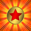 Abstract  background with red star (vector)