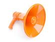 3d Orange Megaphone