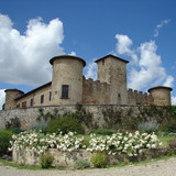 tuscan castle poster