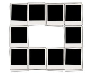 Frame of Blank Photos