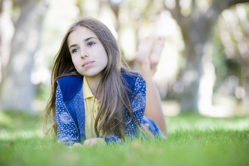 Portrait of Tween Girl