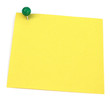 post-it jaune