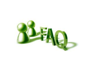 faq word graphic